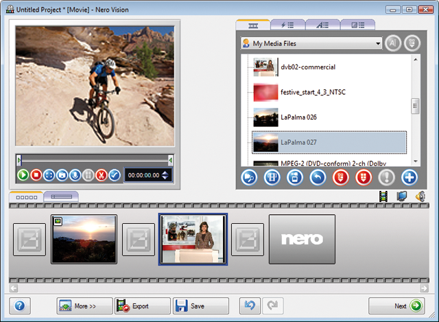 Burning with Nero 9.0 software, the Chinese version (the latest
