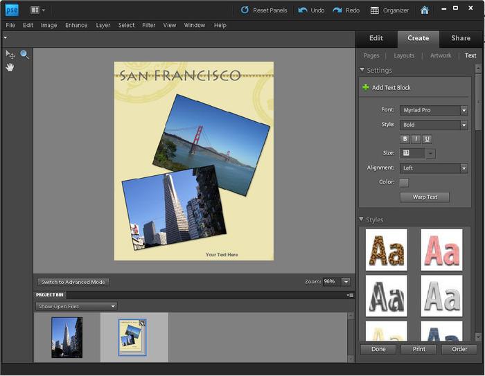 Adobe Photoshop Elements Скачать - фото 11