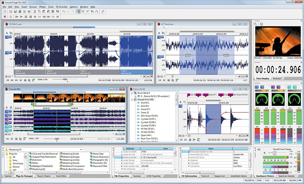 Программа sound forge 10 скачать бесплатно русская версия